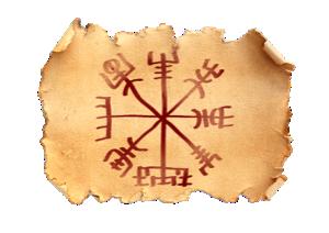 Vegvisir -viking compas