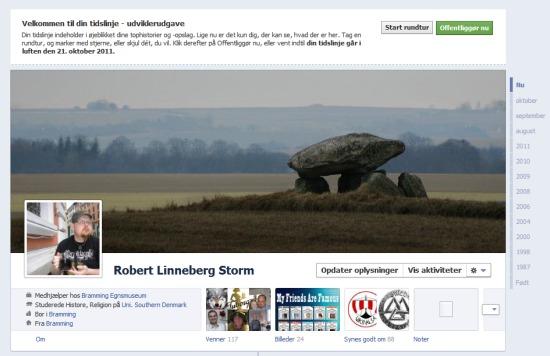 Min nye Facebook Profil